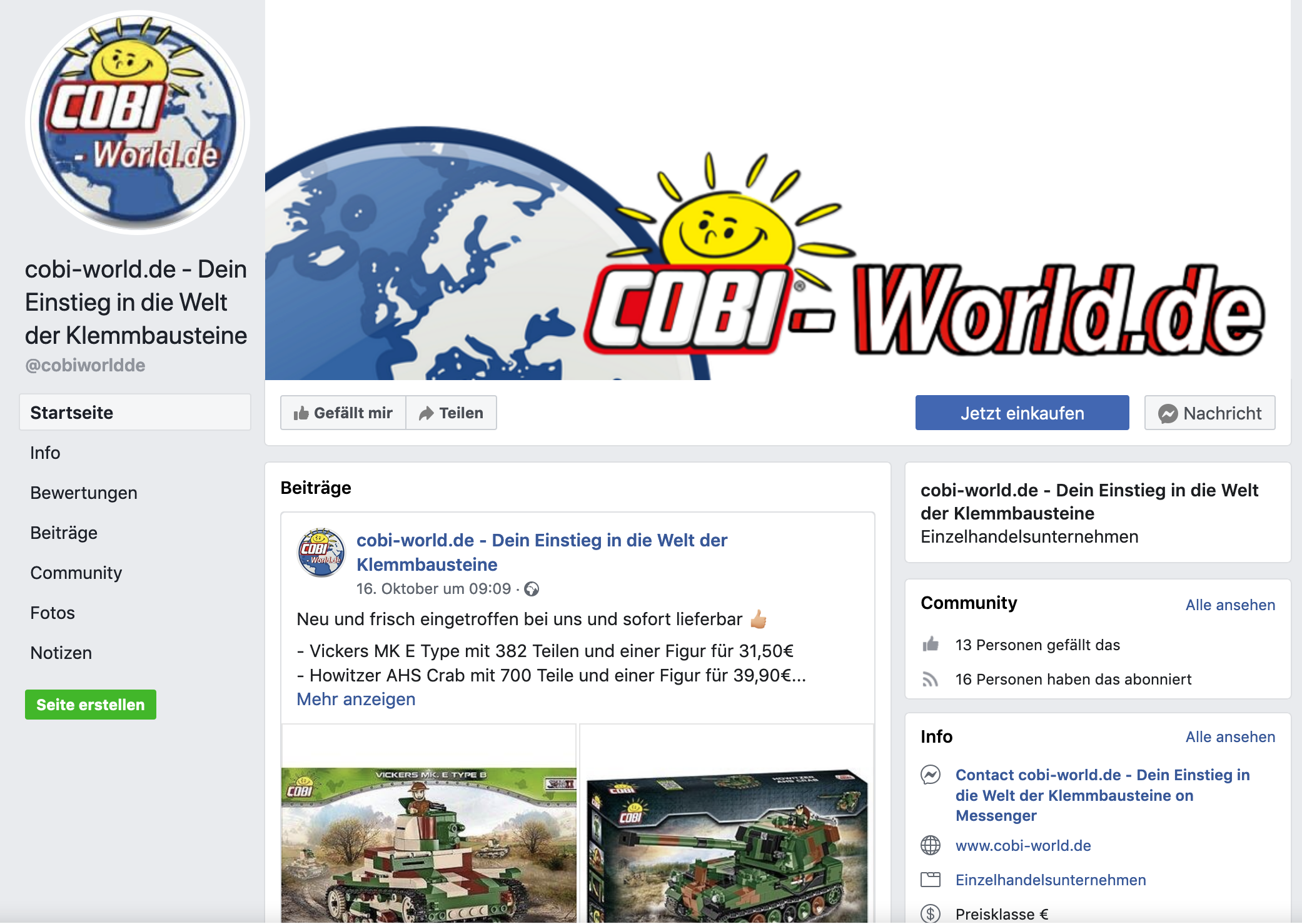 facebook-uebersicht