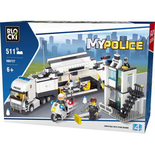 Blocki MyPolice Mobile Polizei-Station
